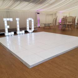 Starlit acrylsauerlED Dance Floor mit Aluminiumrand für Ereignis-Dekoration