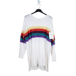 Vierkante de o-Hals van het Kasjmier van de Douane Fonda Breiende Sweater voor Vrouwen