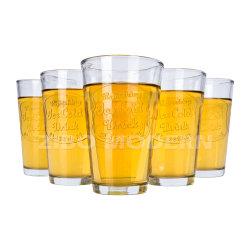 Personalizzazione vetreria trasparente potabile/acqua/succo/bicchiere da vino