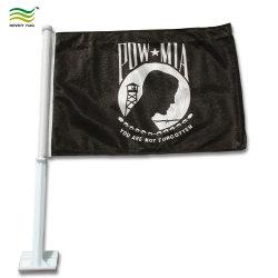 États-Unis en polyester durable Pow Mia drapeau de voiture