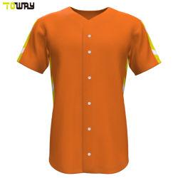 Sport-Abnützung-Entwurf Ihre eigenen normalen Baseball-Jersey-Hemden