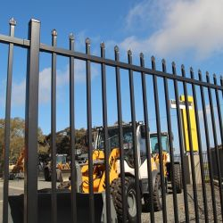 Aluminium/gegalvaniseerd staal Hercules Speerspaar Top Fence for Security/ Yard/House/School/Factory/Garden/Lawn/Bridge/Boundary1