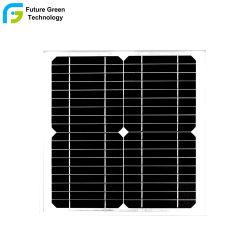 10W Monocrystalline ZonnePV Photovoltaic Comité voor het Licht van de Noodsituatie