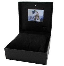 Écran LCD numérique dans le coffret de présentation vidéo d'impression pour le marketing numérique
