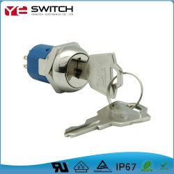 Электронные прочного на отключение механического ключа замка зажигания для ATM