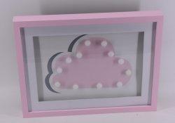 Nuevo diseño lindo decorativos Nube de luz LED para la habitación del bebé