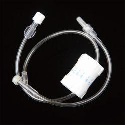 流れの調整装置IVの注入のマルチ方法拡張管が付いている使い捨て可能なIV流れの拡張管