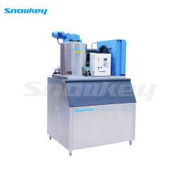 Snowkey аммиака с водяным охлаждением чешуйчатый лед Maker машины