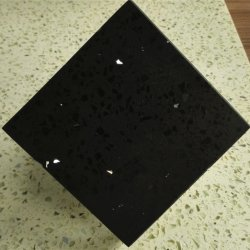 Künstliches Schein-Schwarz-graue Quarz-Stein-Fliese für Treppe und Fußboden