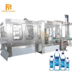 زجاجة مياه شرب من الحيوانات الأليفة أوتوماتيكية لزجاجات من الفولاذ المقاوم للصدأ خط إنتاج المياه المعدنية