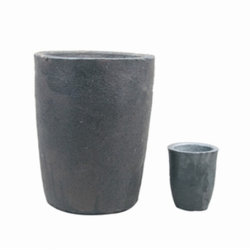 Crogioli ad alta resistenza della grafite del carburo di Silicaon dell'argilla per fondersi