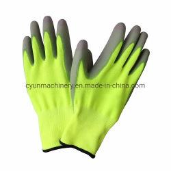 Haut de polyester non pelucheux équipé en fibre de carbone gant de travail antistatique