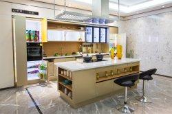 Nuevo diseño de interiores de aluminio de lujo en armarios de cocina/Closet y muebles de cocina