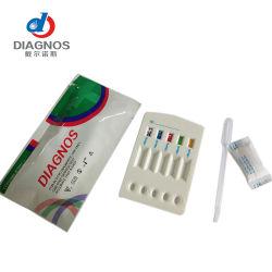 HBV (HBsAg HBsAb HBcAb HBeAb HBeAg) 5 in-1 Snelle Uitrusting van de Test (de Cassette van het Serum/van het Plasma)