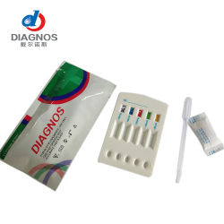 La hepatitis B (HBsAg HBsAb HBcAb HBeAb HBeAg) 5-en-1 Kit de Prueba rápida de Suero/plasma (cassette)