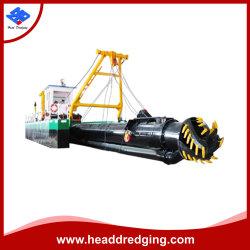 Headdredgingは販売のためのデザインカッターの吸引の砂の浚渫船の船を分解する