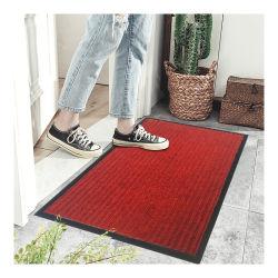 Antibeleg-Streifen-Entwurfs-Polyester-Material entstauben Einstiegstür-Matten-/Anti-Slip-Matte Belüftung-Fußboden-/Hotel-Teppich-/Wool-Matte Innen/Outdoor