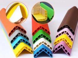 Puesto de guardia de la esquina Anti-Collision Tapa blanda cinta de cantos de PVC plástico protector blando