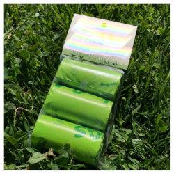 プラスチック包装 / ガベージバッグ PP オーブン / ジップロックバッグプラスチック ショッピングゴミ箱 Tshirt バッグプラスチック Pgreen 環境にやさしいペット用廃棄物バッグ