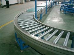 Прямой тяжести гибкие роликовый конвейер в кантоне, склад и логистика