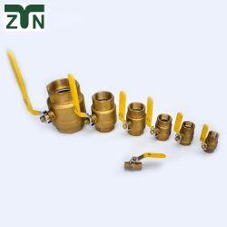 1/4 de pulgada personalizada-4 pulgadas Mini válvula de bola de latón forjado Proveedor