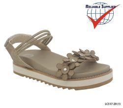 Haut de la mode pour femmes chaussures sandales de PU plat talons de chaussures de filtre en coin