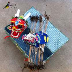 Chinois traditionnel Bamboo 4-25 M Dragon Kite pour les adultes