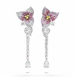 Nieuw Ontwerp 925 Zilveren Oorringen voor de In het groot Juwelen van de Juwelen van de Manier