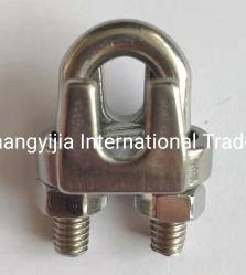 Suministro de la fábrica de acero inoxidable 316 304 Tipo JIS Cable Clip