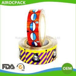 Feuille en aluminium laqué pour le chocolat ou de l'emballage de confiserie