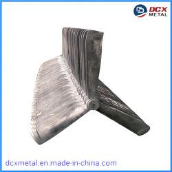 Fabricante chino de la placa de aluminio persianas Ventilador de presión negativa de alta velocidad Industrial de hojas del ventilador ventilador de pared