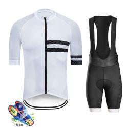 OEM Custom imprimé à manches courtes vêtements cyclisme Bib Jersey