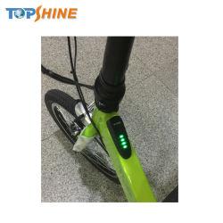 LEDの連続したライトが付いている慣性の巡航システム電気折るバイク