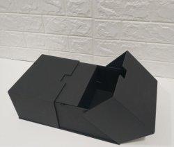 La magie de nouvelle conception du papier carton de couleur noir Emballage, emballage pour les bijoux