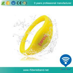La RFID MF1 S50 Bracelet en silicone pour piscine
