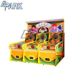 Copa do Mundo de Futebol jogo de futebol de 3 em 1 bilhetes para o pagamento da máquina operada por moedas para crianças