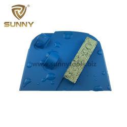 Лавина PCD алмазные шлифовальные кроссовок для снятия покрытия