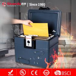 A4 armario secreto de llenado de cajas Stash magnético con cerradura de llave de fuego y la protección del agua