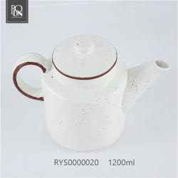 L'épaisseur de thé en céramique durables pot pot de café
