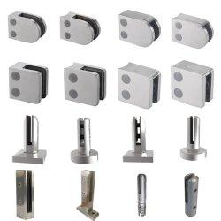 중국 공장 도매 스테인리스 스틸 액세서리 스피것 핸드 레일 유리 클램프 CE 포함