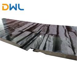 Dwl casa prefabricada con aislamiento de la pared exterior de granos de piedra cultivada decorativos revestimiento metálico de pared exterior Siding