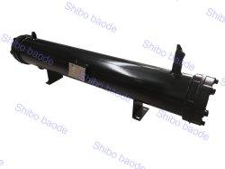 Shell-und Gefäß-Wärmetauscher-Kondensator-einzelnes System 3HP-70HP wassergekühlt