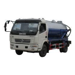 سعة شاحنة دونغفنغ الكهربائية 5000لتر، 000 000 لتر، شاحنة شفط، مياه الصرف الصحي، عربة نفاثة