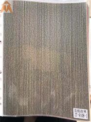 Деревянные зерна матовая пленка передачи с ПВХ из пеноматериала