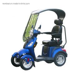 Scooter de movilidad eléctrica/eléctrico cuatro ruedas con techo