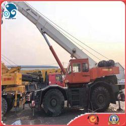 사용된 일본 Tr500e Tadano 거친 지형 트럭 이동 크레인