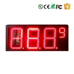 Impermeável ao ar livre 8/10/12/16/18/20/24/32 polegada Digital/tempo/temperatura da estação de gás Preço Gasolina Assinar visor LED