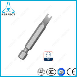 Llave de 1/4 de pulgada de vástago hexagonal puntas de destornillador de potencia