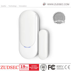 Sensor de puerta magnético inalámbrico para alarma de puerta/ventana