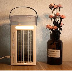 2021 Nouvelle conception à l'intérieur du ventilateur de refroidissement à air électrique de l'eau Mist Climatiseur portatif